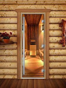 Стеклянные двери для бани и сауны размеры